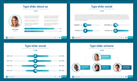 Best Presentation Templates for PowerPoint - Option 2