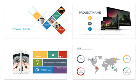 Best Presentation Templates for Keynote - Option 1