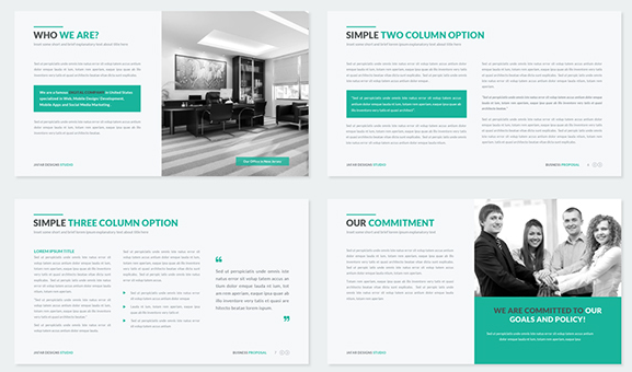 Best Presentation Templates for Keynote - Option 3