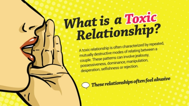 Social Topic Presentation Design - Relationship Problems and Abuse